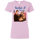 MARRIED AF PODCAST Ladies T-Shirt