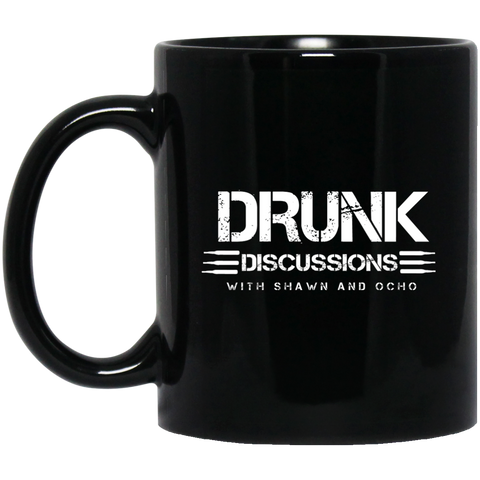 The Drunk Discussions Podcast Black Mug