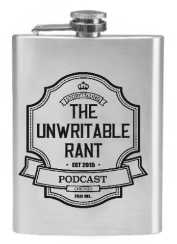 The Unwritable Rant Flask – 6 ounces