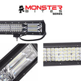 20inch Philips LED Light Bar Quad Row Combo Beam 4x4 Work Driving Lamp Offroad