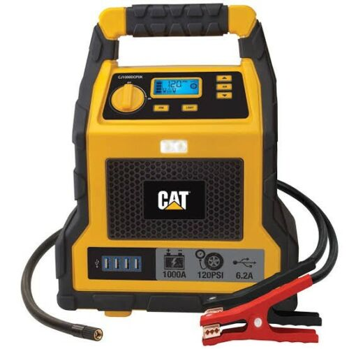 CAT Jump Starter & Air Compressor Professional Grade Power Station 1000 Peak Amp