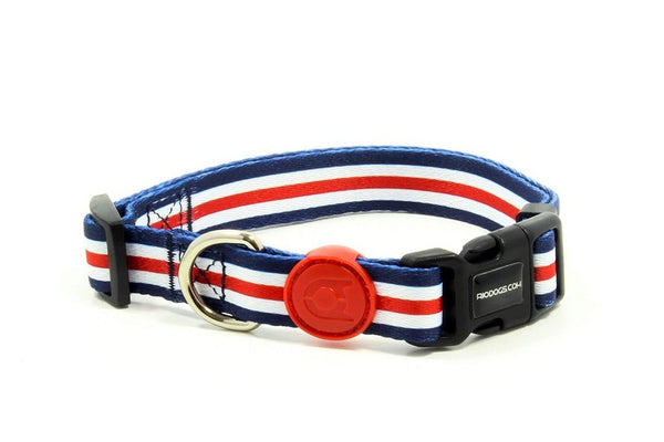 Dog Collar | Stripes Print | Rio Dogs Store