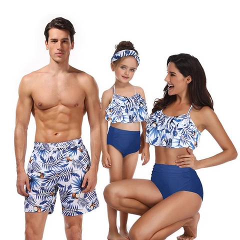 Family Matching Swimsuits