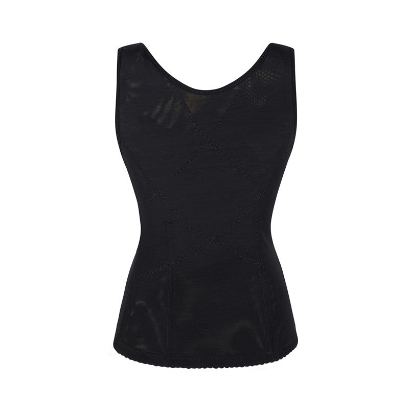 Sexy Breathable Mesh Six-Breasted Vest - WOMENEXY