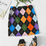 Load image into Gallery viewer, Cute Geometric Argyle Print Skirts
