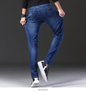 Mens Stretch Regular Fit Jeans