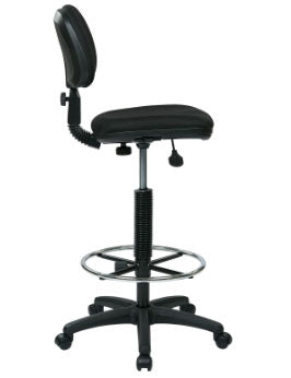 Work Smart DC517-231 Sculptured Seat and Back Drafting Chair
