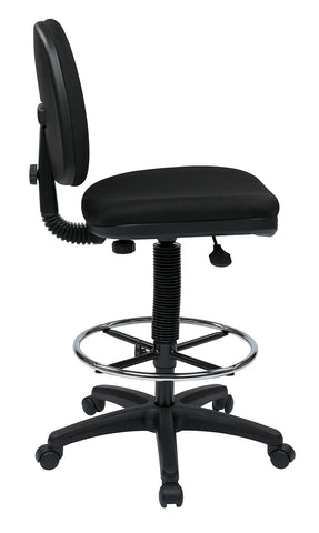 Work Smart DC640-231 Lumbar Support Drafting Chair