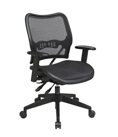 Office Star Space Seating 13-77N9WA Deluxe Chair with AirGrid® Seat and Back - Peazz Furniture
