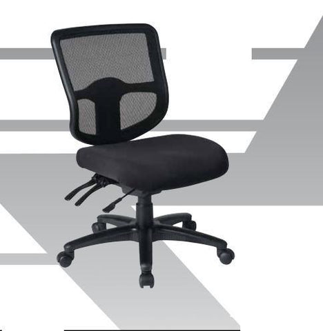 Office Star Work Smart 33107-30 Deluxe Task Chair with Ratchet Back Height Adjustment with Height and Width Adjustable Arms - Peazz Furniture