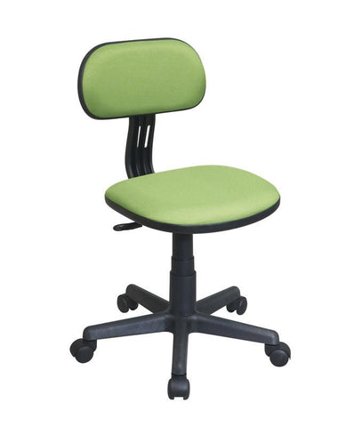 Office Star OSP Designs 499-6 Task Chair in Green Fabric - Peazz Furniture
