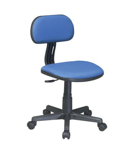 Office Star OSP Designs 499-7 Task Chair in Blue Fabric - Peazz Furniture