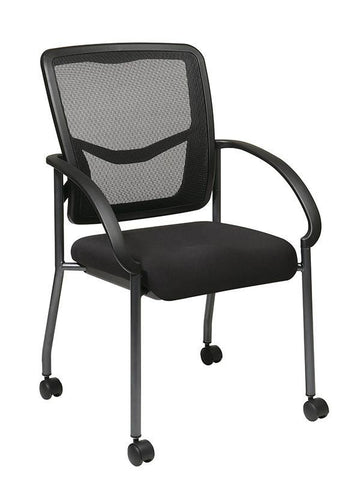Office Star Pro-Line II 85640-30 ProGrid Back Visitors Chair - Peazz Furniture