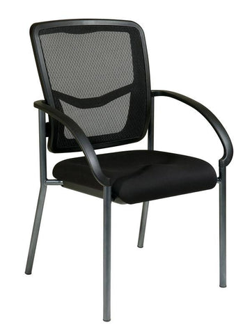 Office Star Pro-Line II 85670-30 ProGrid® Back Visitors Chair with Arms - Peazz Furniture
