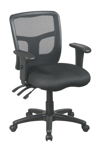 Office Star Pro-Line II 92343-30 ProGrid® Back Mid Back Managers Chair - Peazz Furniture
