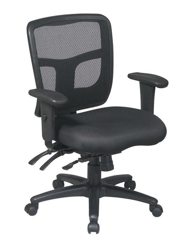 Office Star Pro-Line II 92893-30 ProGrid® Back Mid Back Managers Chair - Peazz Furniture