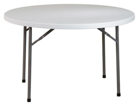 "Office Star Work Smart BT48Q 48"" Round  Resin Multi Purpose Table - Peazz Furniture"