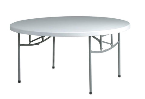 "Office Star Work Smart BT60Q 60"" Round  Resin Multi Purpose Table - Peazz Furniture"