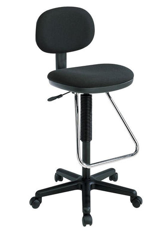 Excellent Office Star Products Dc430 C Economical Chair With Chrome Teardrop Footrest Creativecarmelina Interior Chair Design Creativecarmelinacom