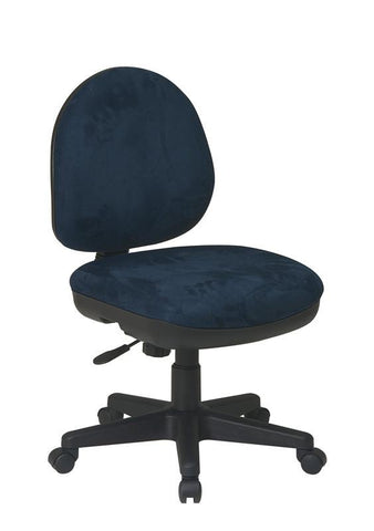 Office Star Products DH3400-C Contemporary Task Chair with Flex Back - Peazz Furniture