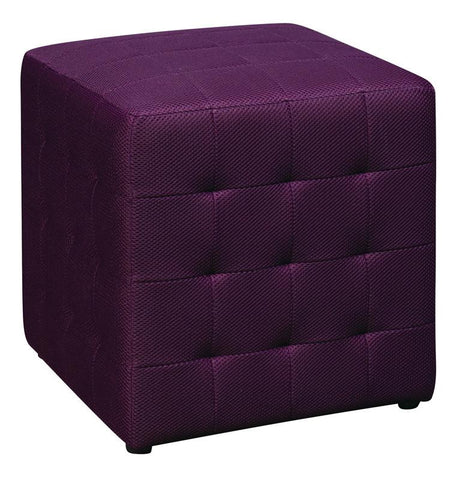 "Office Star OSP Designs DTR15-512 Detour 15"" Fabric Cube - Peazz Furniture"