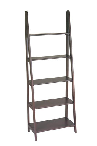 Office Star OSP Designs ES21 Ladder Bookcase - Peazz Furniture