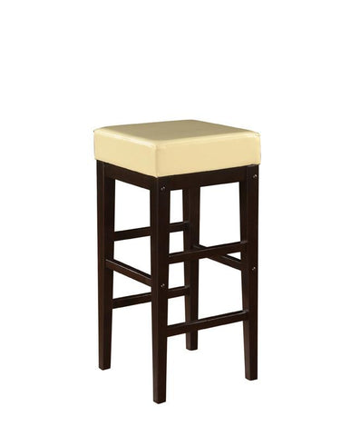 "Office Star OSP Designs ES30VS3CM 30"" Square Stool - Peazz Furniture"