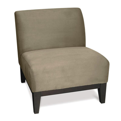 Office Star Ave Six GLN51-S62 Glen Accent Chair in Stone - Peazz Furniture