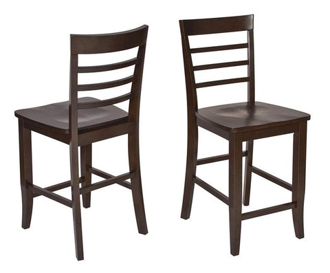 Office Star OSP Designs JT424 Jamestown 2pk Barstools - Peazz Furniture