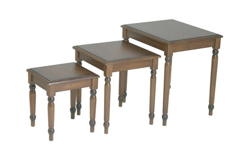 Office Star OSP Designs KH19 3pc. Nesting Tables - Peazz Furniture