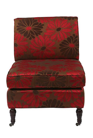 Office Star Ave Six MAD51-G14 Madrid Chair in Groovy Red - Peazz Furniture