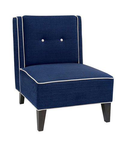 Office Star Ave Six MAR51-W17 Marina Chair in Woven Indigo - Peazz Furniture