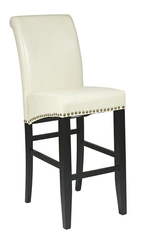 "Office Star OSP Designs MET8730CM 30"" Parsons Barstool - Peazz Furniture"