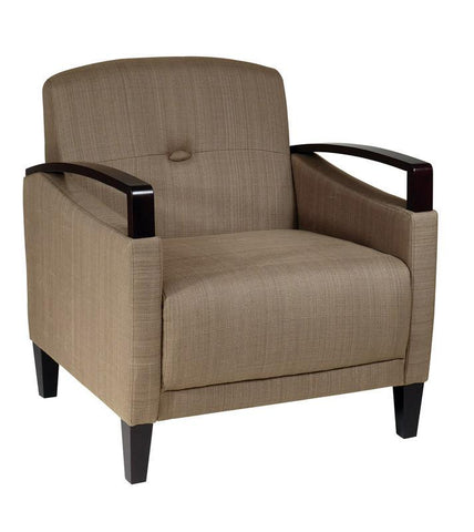 Office Star Ave Six MST51-S22 Main Street Chair in Woven Seaweed - Peazz Furniture