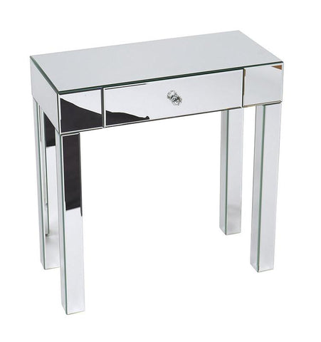 Office Star Ave Six REF07-SLV Reflections Foyer Table - Peazz Furniture