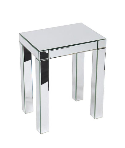 Office Star Ave Six REF17-SLV Reflections Accent Table - Peazz Furniture