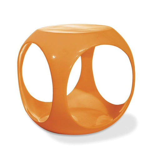 Office Star Ave Six SLK32 Slick Cube in Orange - Peazz Furniture