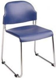 Office Star Work Smart STC3230-7 2-Pack Stack Chair with Plastic Seat and Back - Peazz Furniture