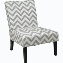 Office Star Ave Six VCT51-Z13 Victoria Chair in Zig Zag Grey - Peazz Furniture