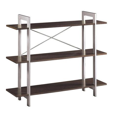 Office Star OSP Designs XT27 3 Tier Bookshelf - Peazz Furniture