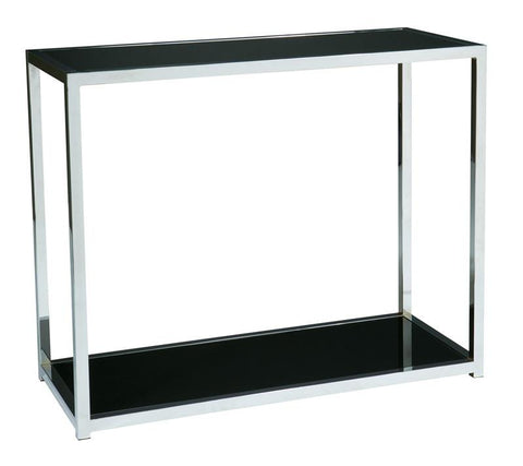Office Star Ave Six YLD07 Yield Foyer Table - Peazz Furniture