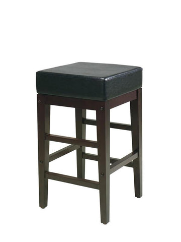 "Office Star OSP Designs ES25VS3 25"" Square Stool - Peazz Furniture"