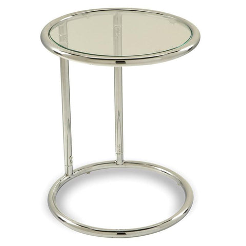 Office Star Ave Six YLD14 Yield Glass Circle Table - Peazz Furniture