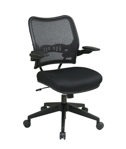 Office Star Space Seating 13-37N1P3 Deluxe Chair with AirGrid® Back and Mesh Seat - Peazz Furniture