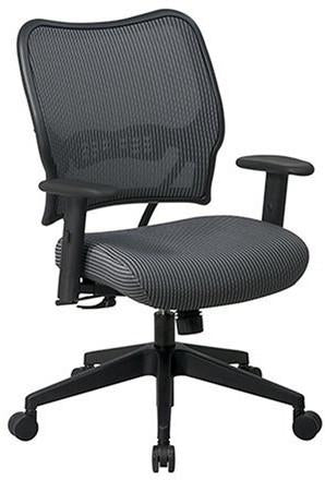 Office Star Space Seating 13-V22N1WA Deluxe Chair with Shadow VeraFlex®   Back and VeraFlex®  Fabric Seat - Peazz Furniture