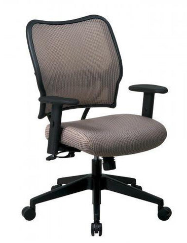 Office Star Space Seating 13-V88N1WA Deluxe Chair with Latte VeraFlex®  Back and VeraFlex®  Fabric Seat - Peazz Furniture