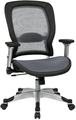 Space Seating 327-66C61F6 Professional Light Air Grid¨ Back and Seat Chair - Peazz Furniture