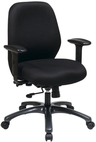 Office Star Pro-Line II 54666-231 24 Hour Ergonomic Chair with 2-to-1 Synchro Tilt - Peazz Furniture
