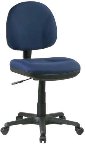 Work Smart 8120-225 Sculptured Task Chair - Peazz.com