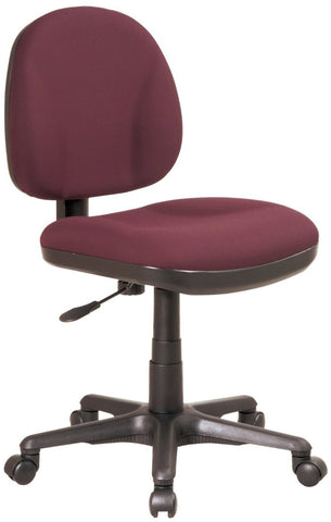 Work Smart 8120-227 Sculptured Task Chair without Arms - Peazz.com